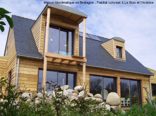 maison bioclimatique en bretagne