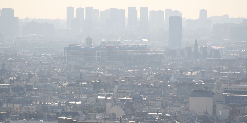 Ville de Paris pic de pollution