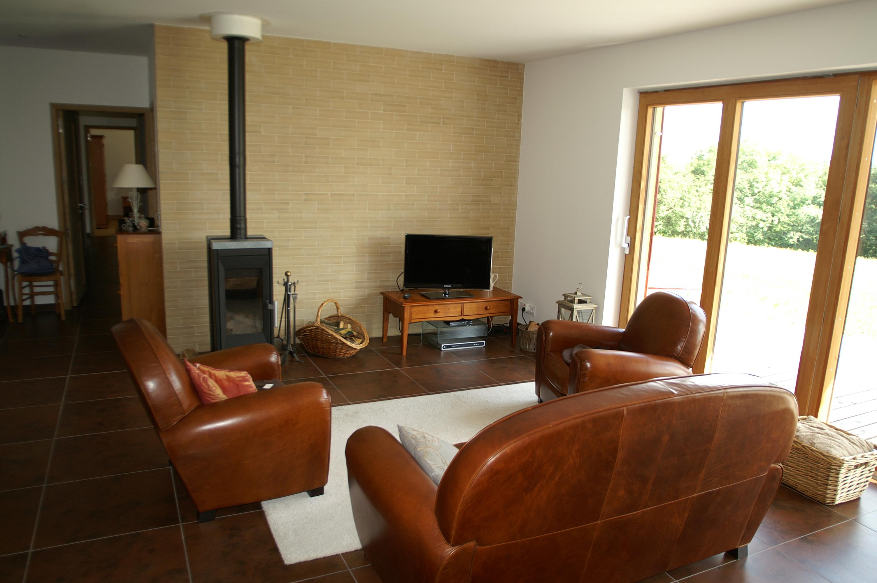 Poele A Bois Maison maison passive à lys st georges (36) – scop fiabitat concept