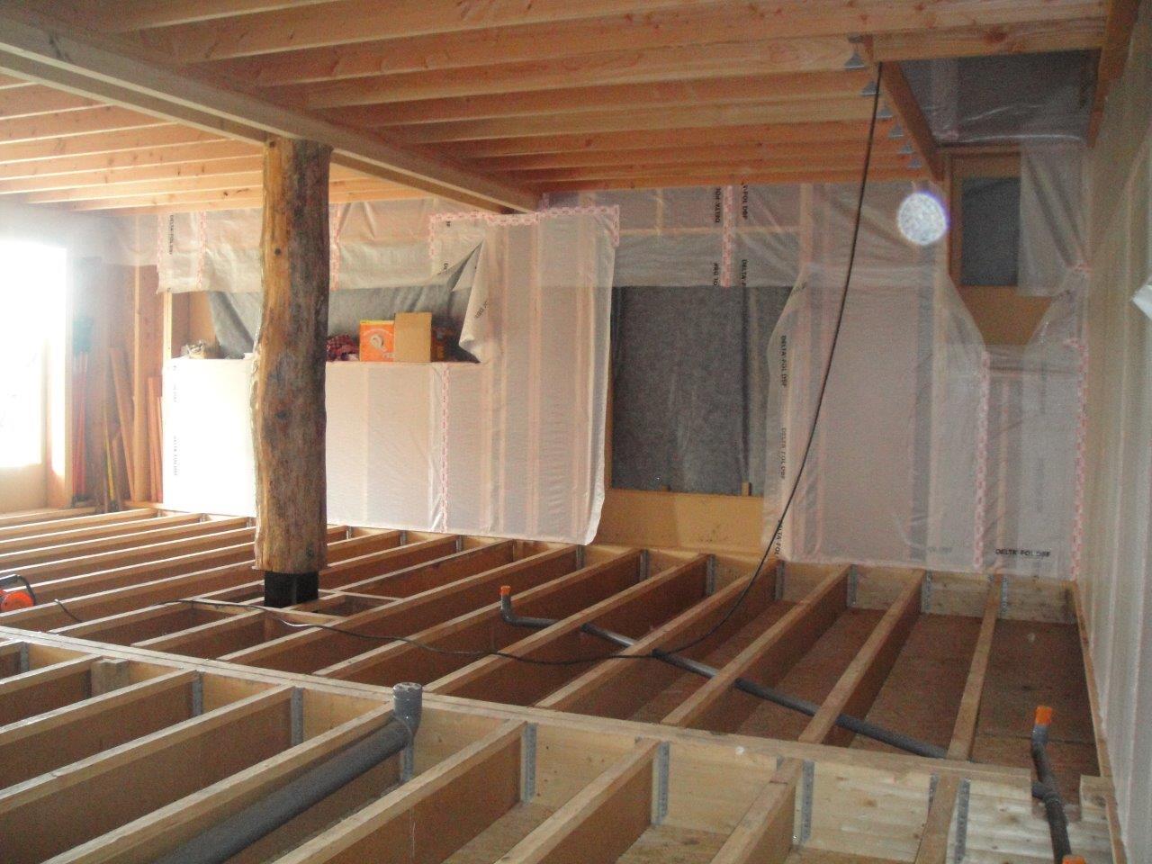 Le plancher bas rdc avant isolation scop fiabitat for Isolation plancher bas sur vide sanitaire