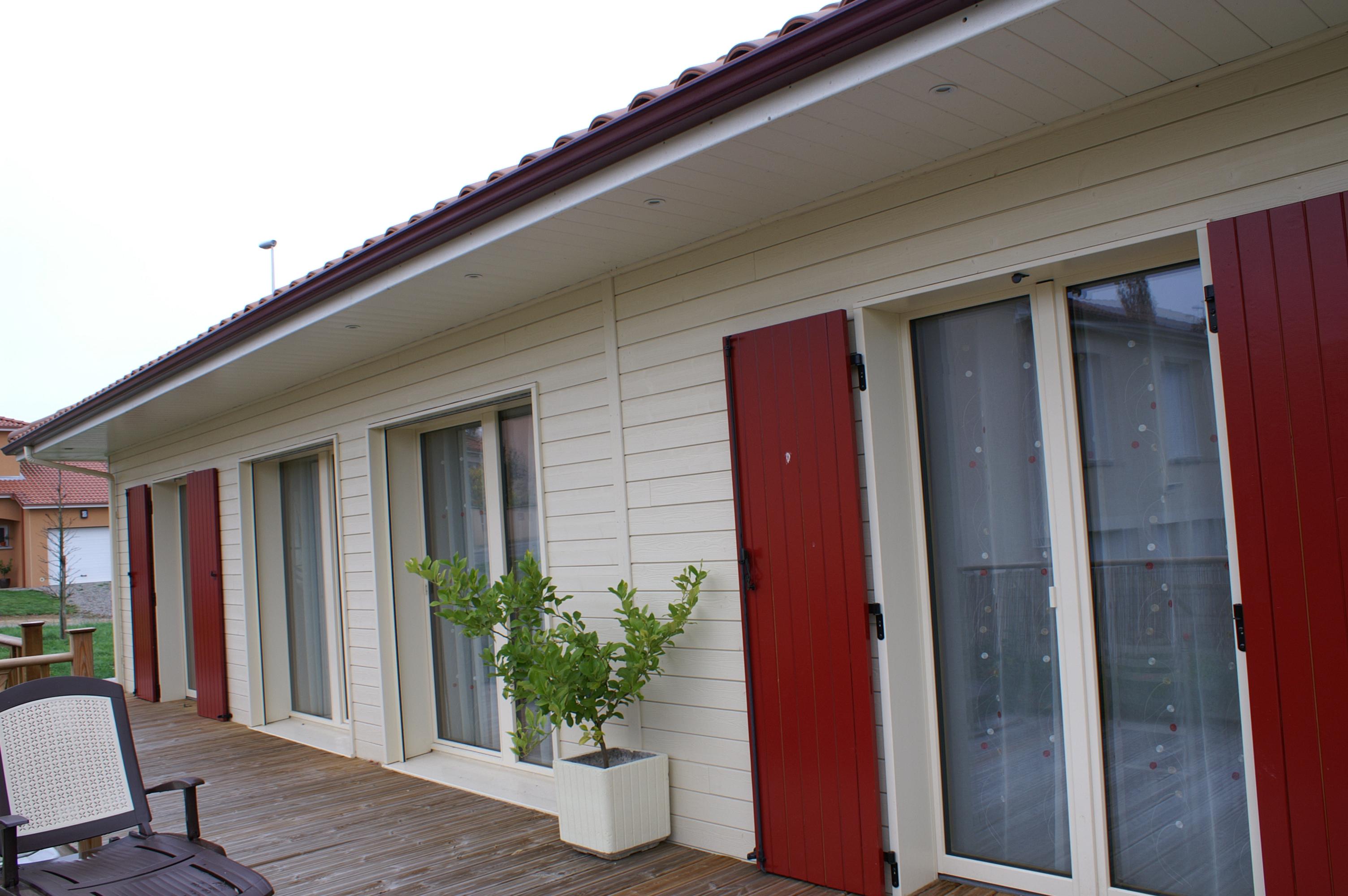 Maison passive ossature bois en haute vienne 87 scop for Construction bois 87